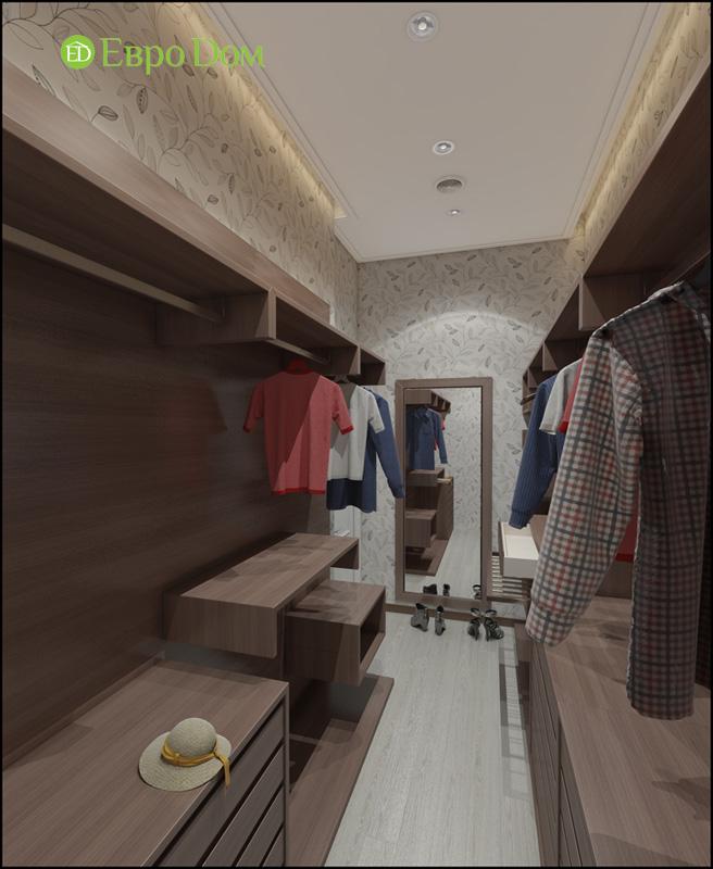 Дизайн интерьера 3-комнатной квартиры в стиле фьюжн. Фото 018