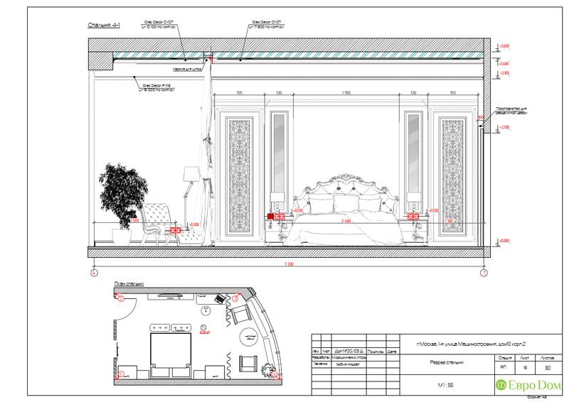 Дизайн интерьера 3-комнатной квартиры в стиле фьюжн. Фото 038