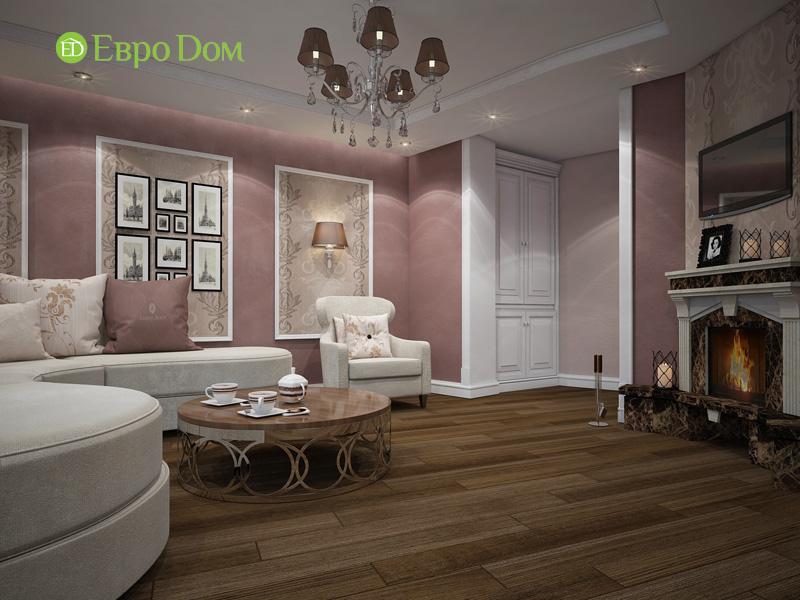 Двухкомнатная квартира 87 кв. м. Дизайн интерьера в стиле легкая классика. Фото 04
