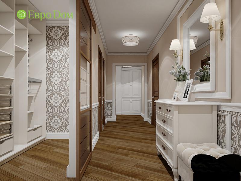 Двухкомнатная квартира 87 кв. м. Дизайн интерьера в стиле легкая классика. Фото 010