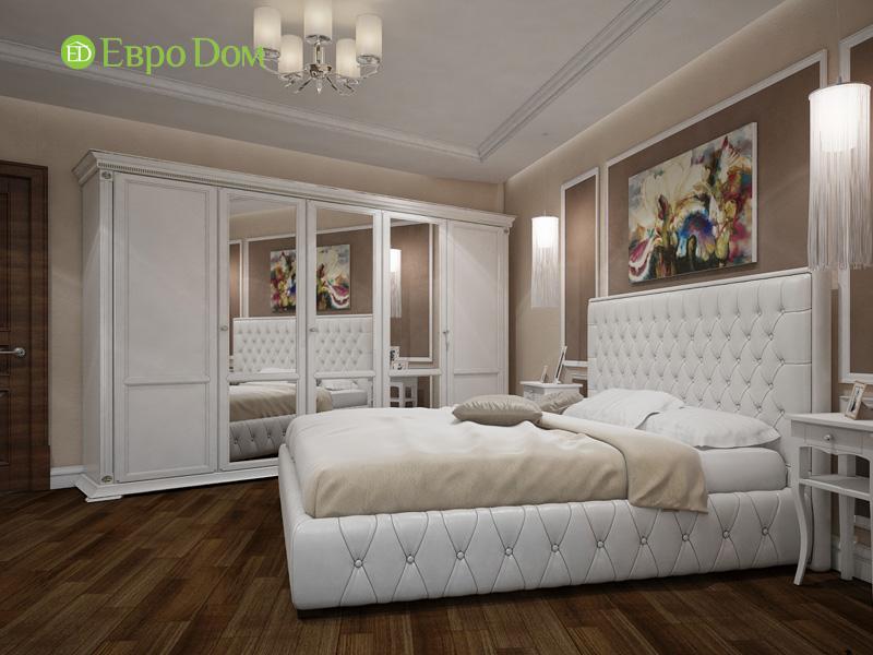 Двухкомнатная квартира 87 кв. м. Дизайн интерьера в стиле легкая классика. Фото 011