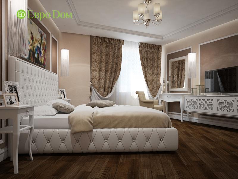 Двухкомнатная квартира 87 кв. м. Дизайн интерьера в стиле легкая классика. Фото 012