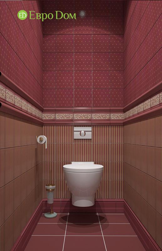Двухкомнатная квартира 87 кв. м. Дизайн интерьера в стиле легкая классика. Фото 014