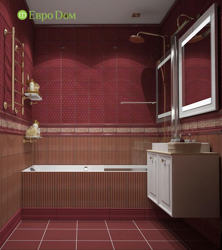 Двухкомнатная квартира 87 кв. м. Дизайн интерьера в стиле легкая классика. Фото 015