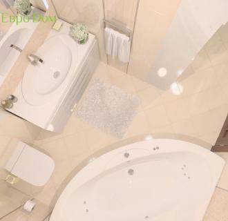 Дизайн трехкомнатной квартиры 129 кв. м в стиле модерн. Фото проекта