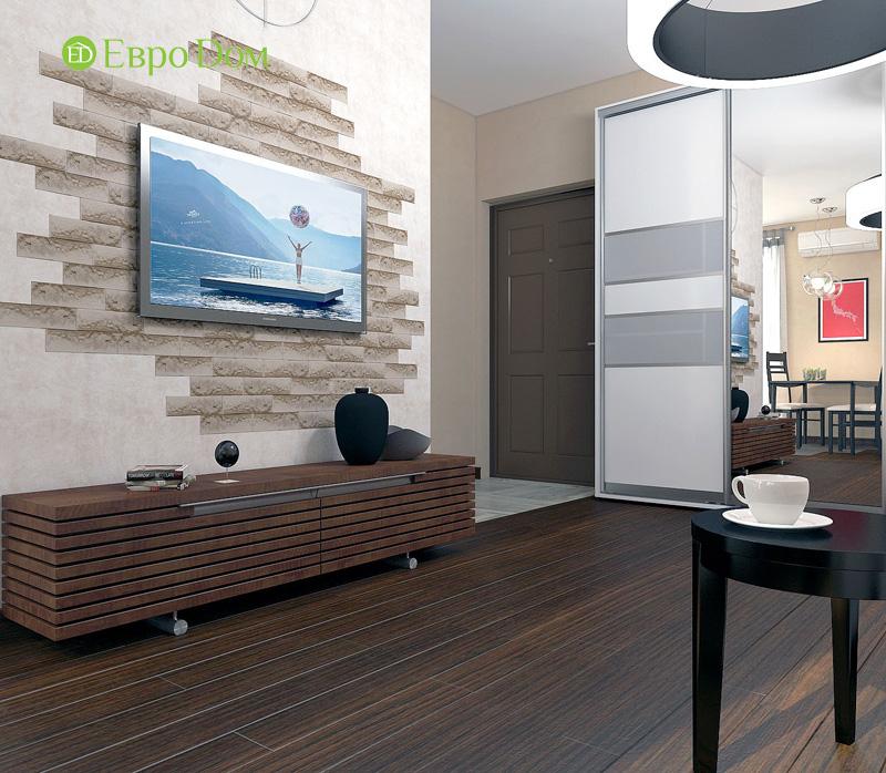 Дизайн 3-комнатной квартиры 63 кв. м в стиле лофт. Фото 05