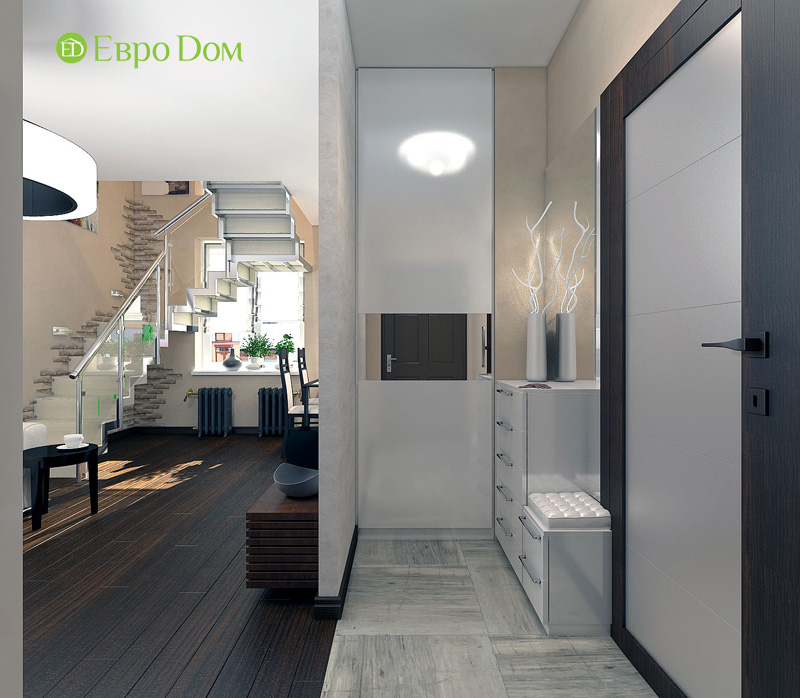 Дизайн 3-комнатной квартиры 63 кв. м в стиле лофт. Фото 07