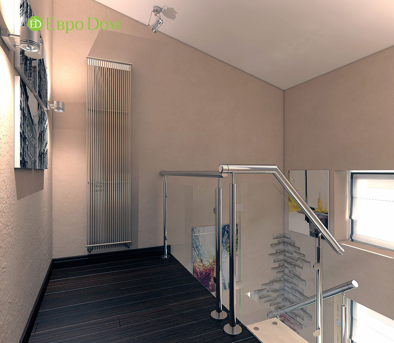 Дизайн 3-комнатной квартиры 63 кв. м в стиле лофт. Фото 08