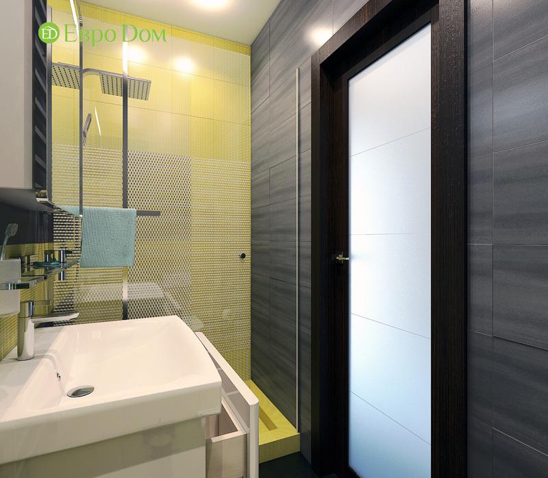 Дизайн 3-комнатной квартиры 63 кв. м в стиле лофт. Фото 016