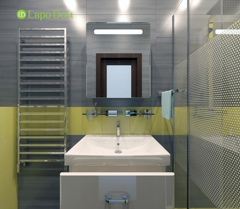 Дизайн 3-комнатной квартиры 63 кв. м в стиле лофт. Фото 017