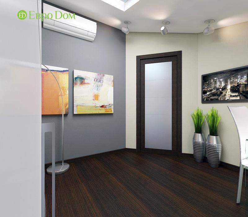 Дизайн 3-комнатной квартиры 63 кв. м в стиле лофт. Фото 023