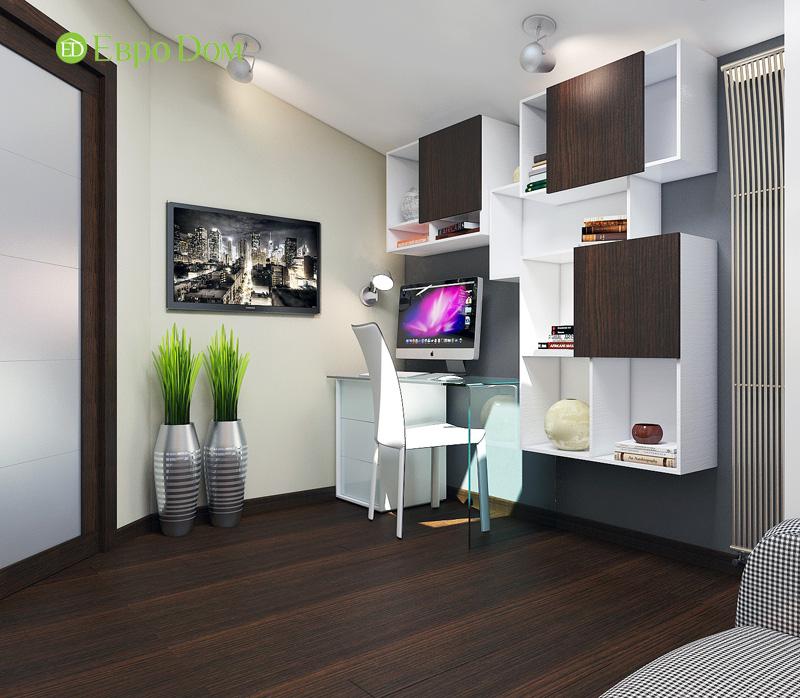 Дизайн 3-комнатной квартиры 63 кв. м в стиле лофт. Фото 024