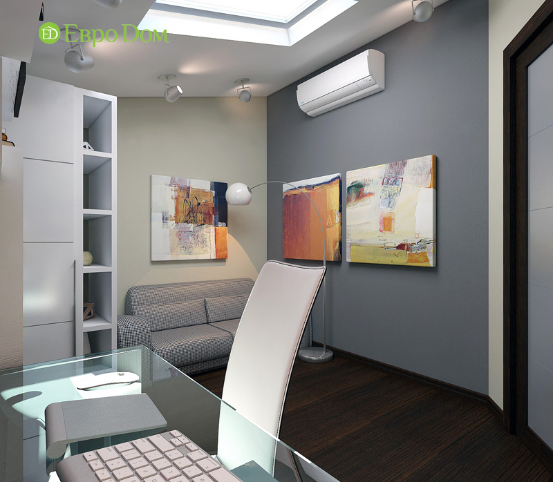 Дизайн 3-комнатной квартиры 63 кв. м в стиле лофт. Фото 025
