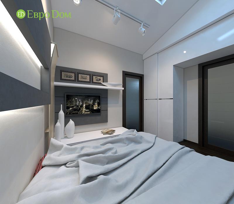 Дизайн 3-комнатной квартиры 63 кв. м в стиле лофт. Фото 026