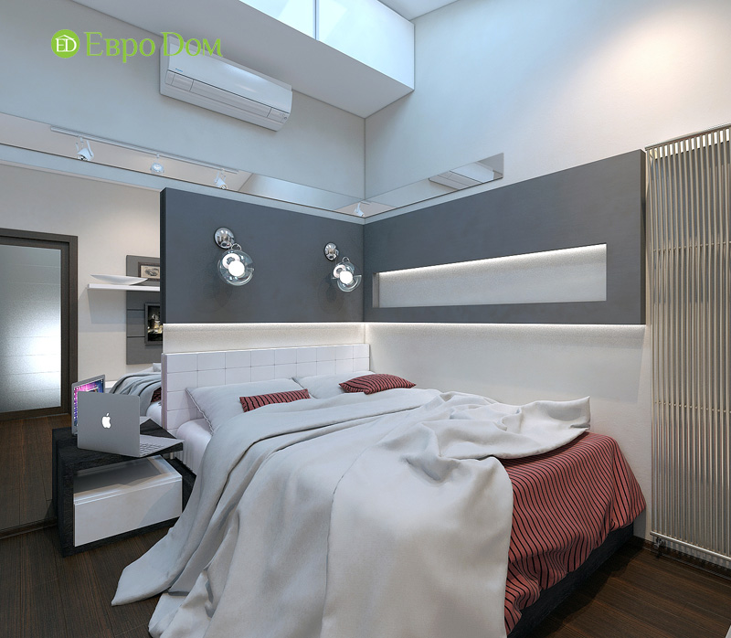 Дизайн 3-комнатной квартиры 63 кв. м в стиле лофт. Фото 027