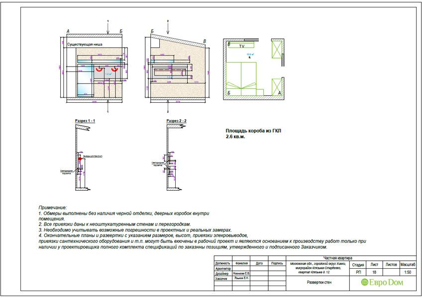 Дизайн 3-комнатной квартиры 63 кв. м в стиле лофт. Фото 047