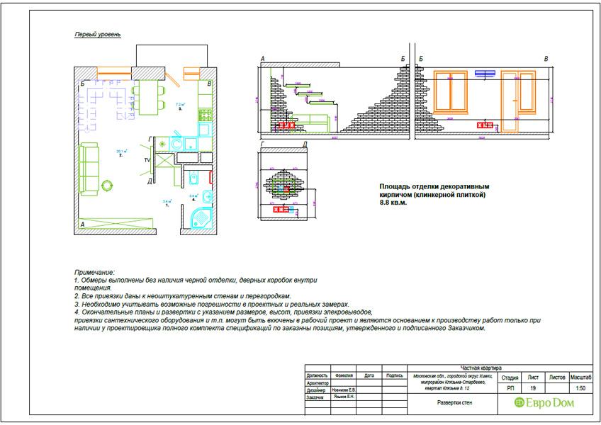 Дизайн 3-комнатной квартиры 63 кв. м в стиле лофт. Фото 048