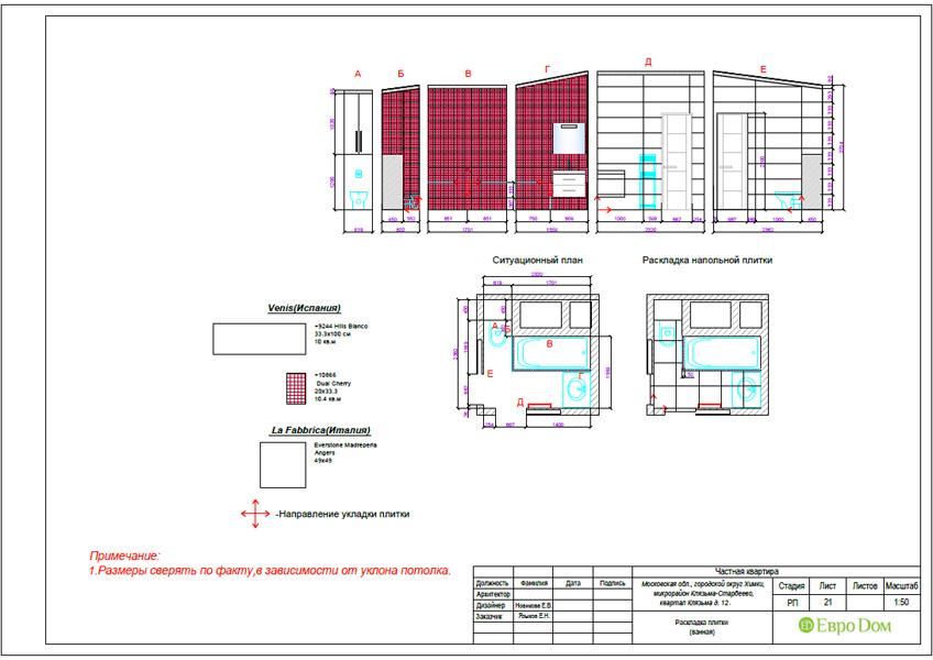 Дизайн 3-комнатной квартиры 63 кв. м в стиле лофт. Фото 050