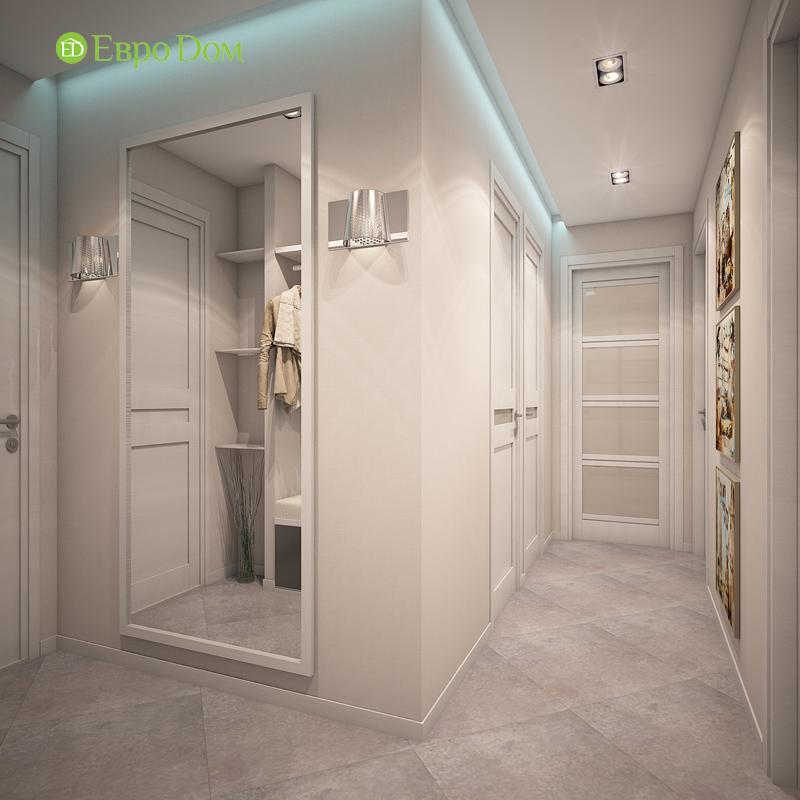 Дизайн трехкомнатной квартиры 64 кв. м в современном стиле. Фото 03
