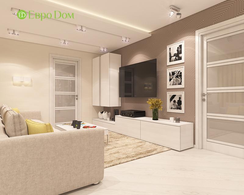 Дизайн трехкомнатной квартиры 64 кв. м в современном стиле. Фото 04