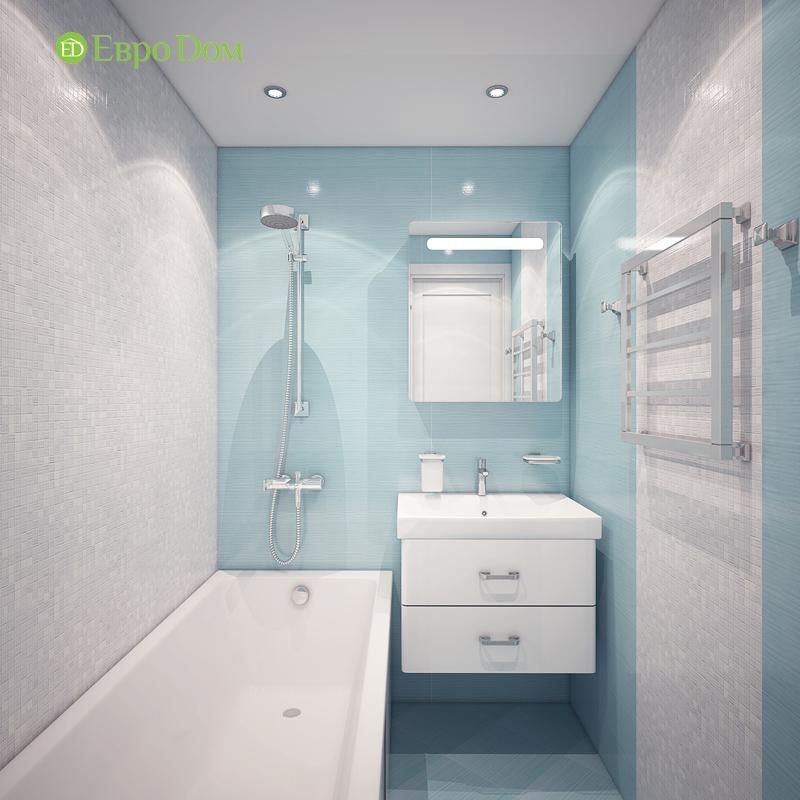 Дизайн трехкомнатной квартиры 64 кв. м в современном стиле. Фото 09