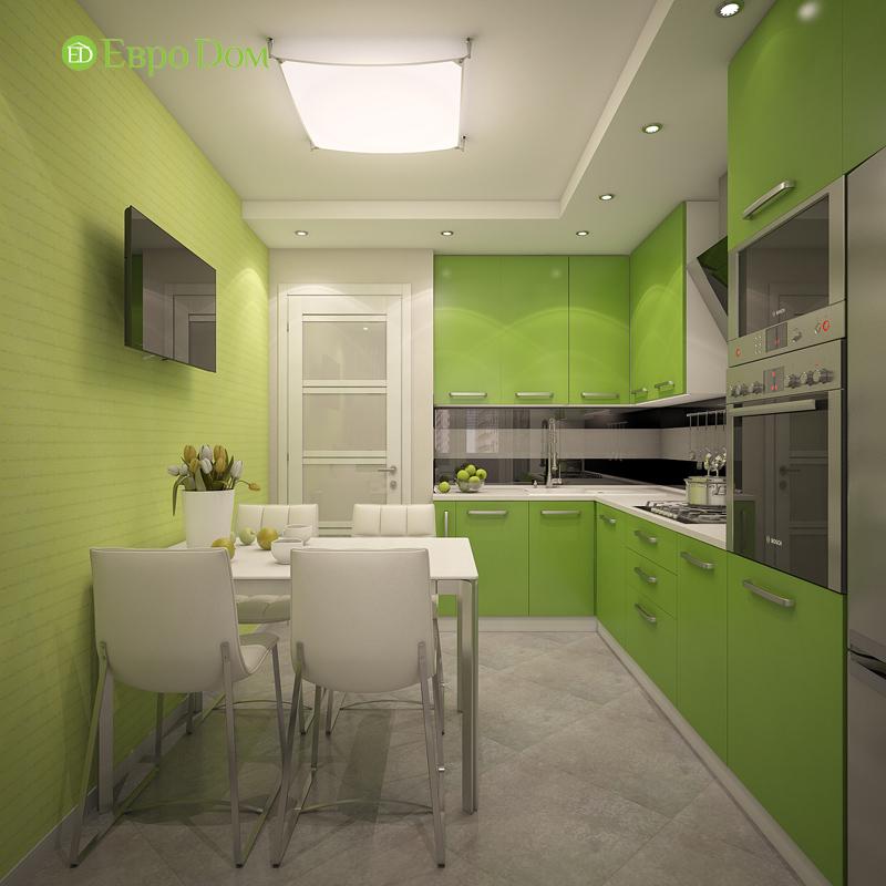 Дизайн трехкомнатной квартиры 64 кв. м в современном стиле. Фото 011