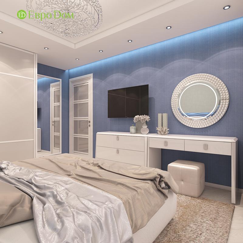 Дизайн трехкомнатной квартиры 64 кв. м в современном стиле. Фото 012