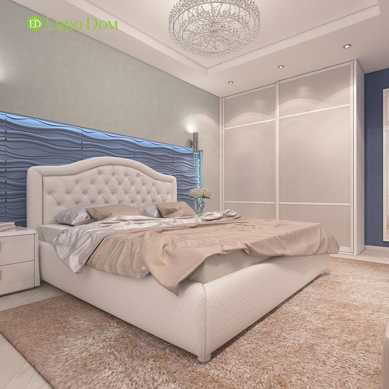 Дизайн трехкомнатной квартиры 64 кв. м в современном стиле. Фото 013