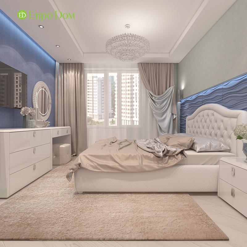 Дизайн трехкомнатной квартиры 64 кв. м в современном стиле. Фото 014