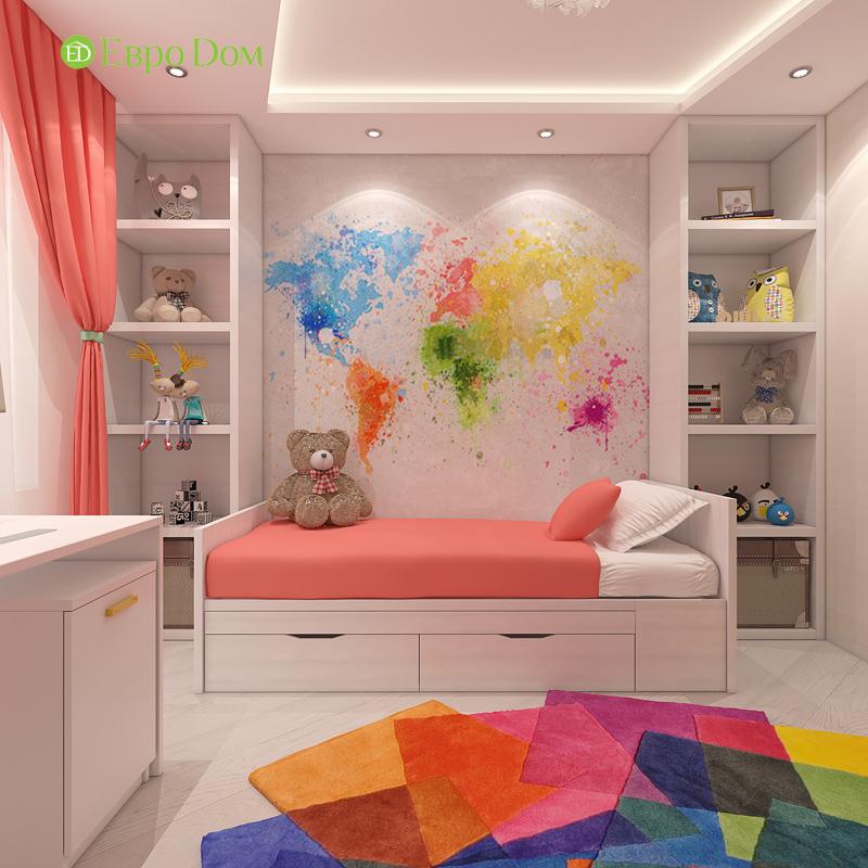 Дизайн трехкомнатной квартиры 64 кв. м в современном стиле. Фото 015