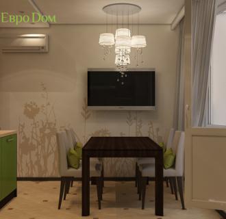 Дизайн четырехкомнатной квартиры 109 кв. м в стиле Контемпорари. Фото проекта