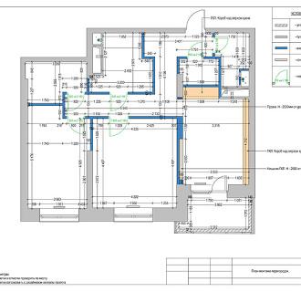 Дизайн двухкомнатной квартиры 87 кв. м в стиле ар нуво. Фото проекта