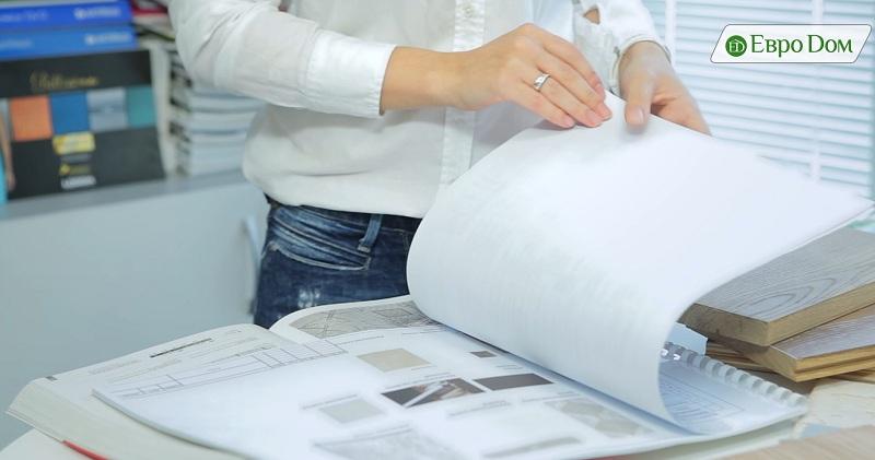 Изучение дизайн-проекта и сметы
