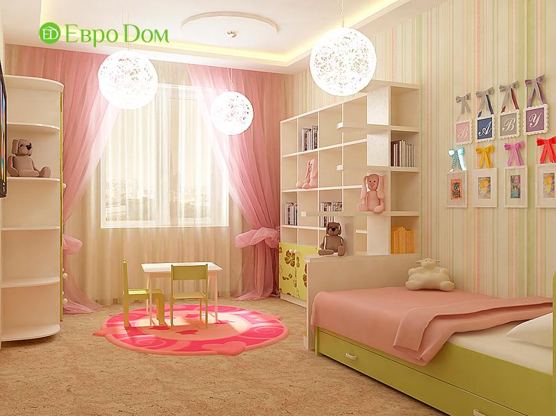 На фото: современный дизайн детской спальни