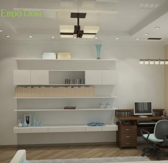Дизайн четырехкомнатной квартиры 106 кв. м в японском стиле. Фото проекта