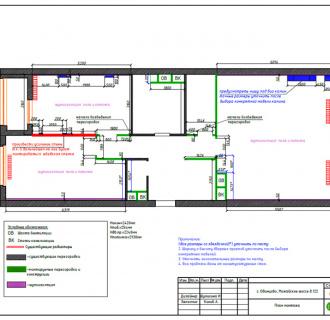 Дизайн трехкомнатной квартиры 107 кв. м в современном стиле. Фото проекта