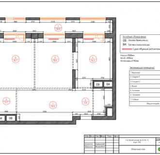 Дизайн двухкомнатной квартиры 87 кв. м в современном стиле. Фото проекта