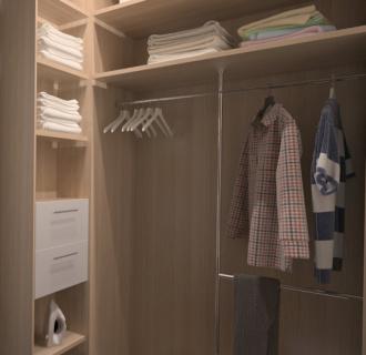 Дизайн двухкомнатной квартиры 71 кв. м в современном стиле. Фото проекта