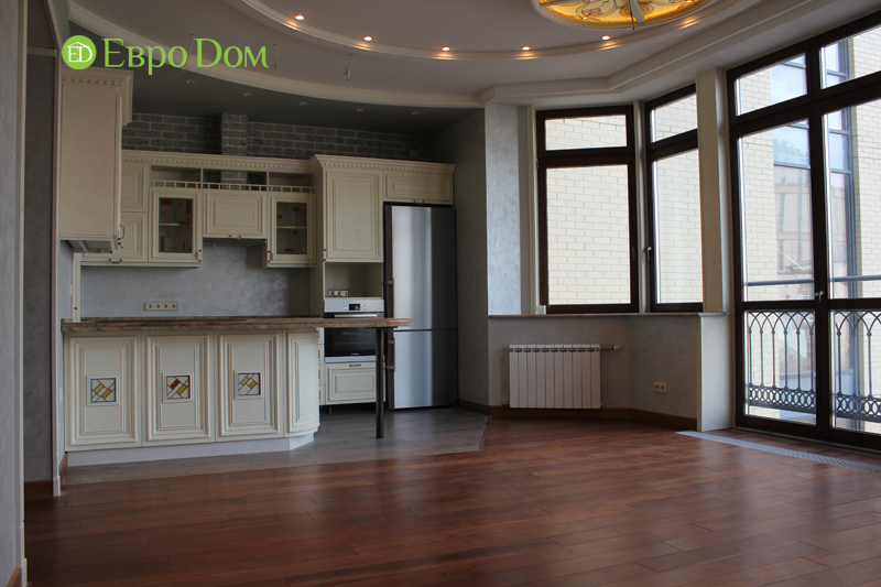 Ремонт 4-комнатной квартиры. Интерьер в классическом стиле. Фото 025