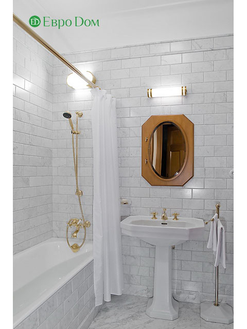 Ремонт 4-комнатной квартиры. Стиль интерьера - легкая классика. Фото 02