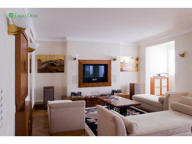 Ремонт 4-комнатной квартиры. Стиль интерьера - легкая классика. Фото 08