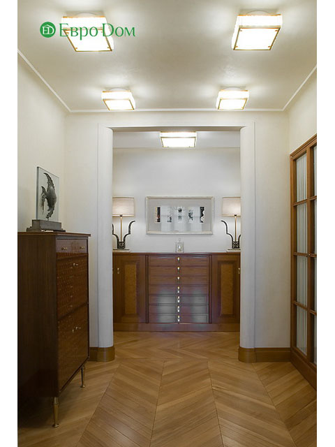 Ремонт 4-комнатной квартиры. Стиль интерьера - легкая классика. Фото 013