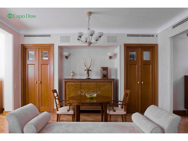 Ремонт 4-комнатной квартиры. Стиль интерьера - легкая классика. Фото 015