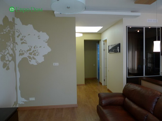 Ремонт 2-комнатной квартиры 58 кв. м в современном стиле. Фото 011