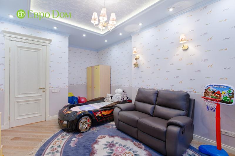 Ремонт трёхкомнатной квартиры. Интерьер в классическом стиле. Фото 02