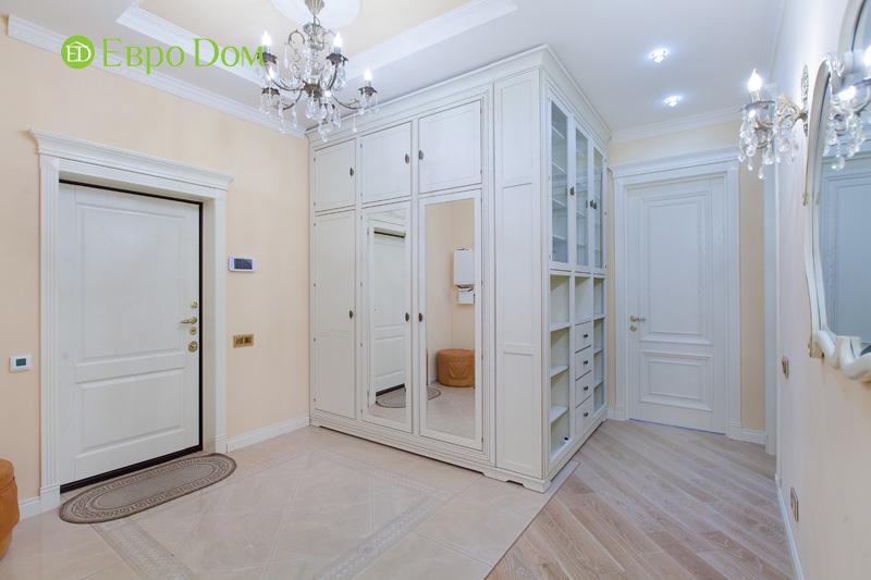 Ремонт трёхкомнатной квартиры. Интерьер в классическом стиле. Фото 03