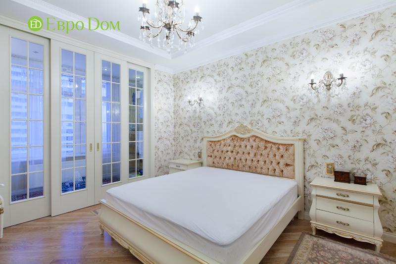 Ремонт трёхкомнатной квартиры. Интерьер в классическом стиле. Фото 04