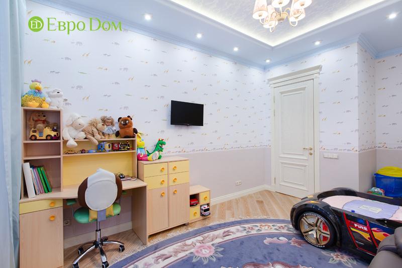 Ремонт трёхкомнатной квартиры. Интерьер в классическом стиле. Фото 016
