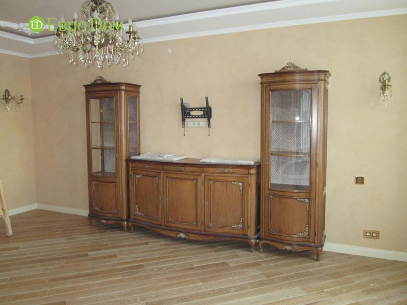 Ремонт трёхкомнатной квартиры. Интерьер в классическом стиле. Фото 024