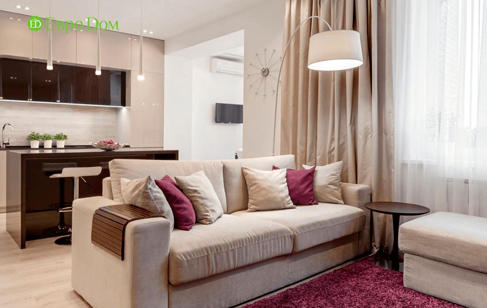 Ремонт однокомнатной квартиры в современном стиле
